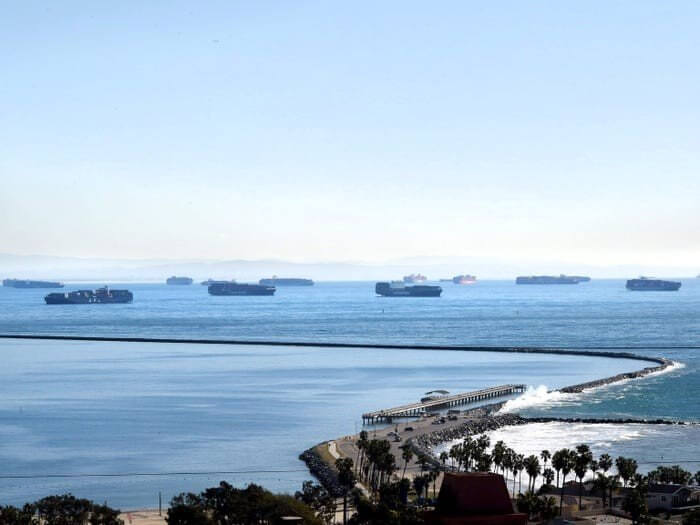 Read more about the article A record-breaking 44 container ships are stuck off the coast of California